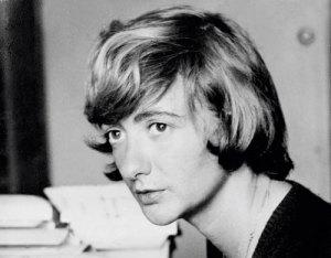 Eighteen-year-old Françoise Sagan